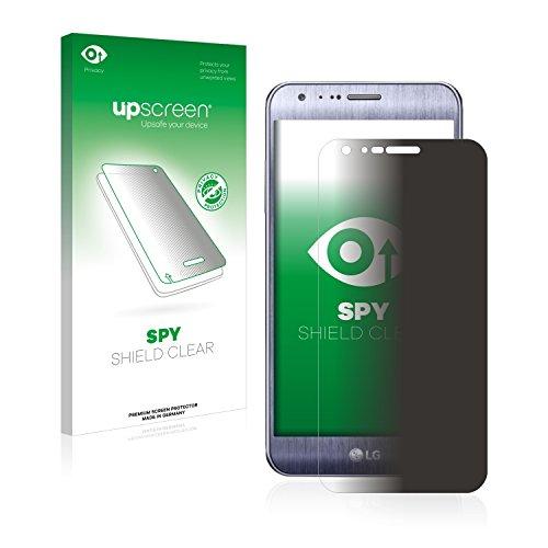 upscreen Anti-Spy Blickschutzfolie kompatibel mit LG X Cam Privacy Screen Sichtschutz Bildschirmschutz-Folie