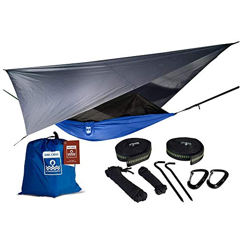 Oak Creek Lost Valley Camping Hammock | Bundle Includes Mosquito...