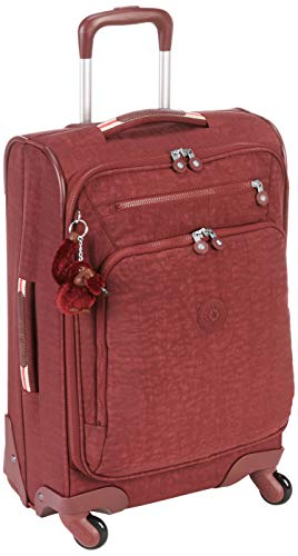 Kipling YOURI SPIN 55 Equipaje de mano, cm, 33 liters, Marrón (Burnt...