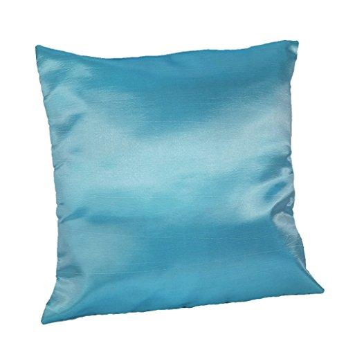 cozymomo par azul manta funda de almohada decorativa sofá sofá de funda de cojín con cremallera 16x 16Inchs (40x 40cm)
