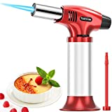 KIMILAR Butane Torch Lighters, Refillable Kitchen Culinary Torch Mini Cooking Blow Torch with Safety...