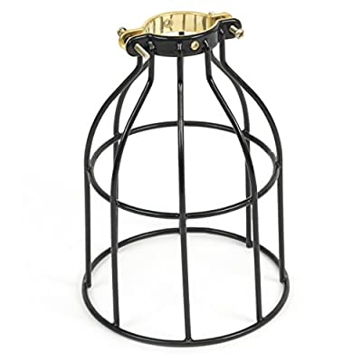 ArtifactDesign Industrial Vintage Style Curved Top Light Cage for Pendant Light Lamps …
