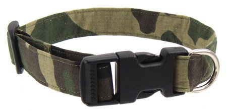 K9 Bytes Camouflage Dog Collar, Medium