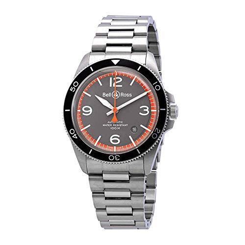 Bell & Ross Vintage BR V2-92 Garde Cotes orologio da uomo BRV292-ORA-ST/SST
