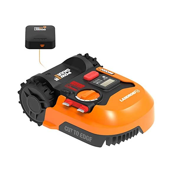 WORX WR143 Landroid M 20V PowerShare Robotic Lawn Mower with GPS Module Included 1
