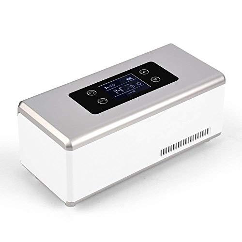 LONGJUAN-C coches La insulina temperatura del refrigerador Medicina enfriador con Control Avanzado portátil de viaje Home Box for Drogas Coolers Refrigerador