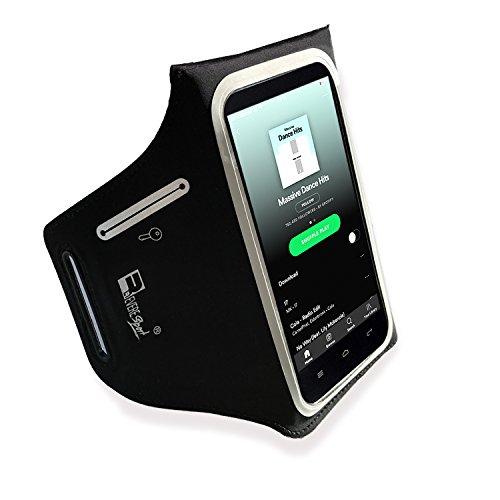 RevereSport iPhone X/8/7/6/XS Sportarmband. Armband Telefon Handy Halter Case für Laufen, Workout, Joggen und Fitness