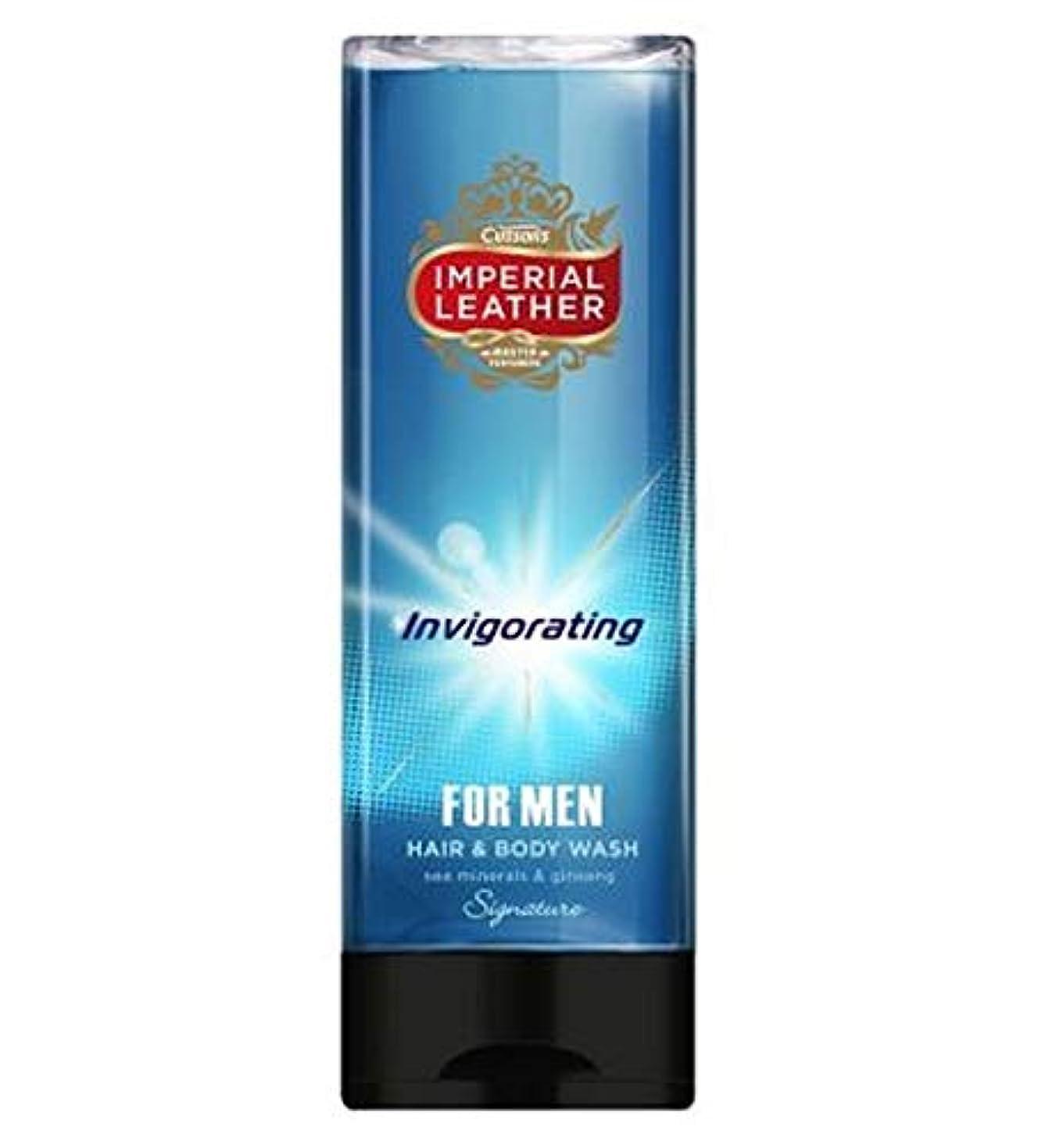 コンチネンタル加速度フロンティア[Imperial Leather ] 男性のためのヘア&ボディウォッシュを爽快帝国革の署名 - Imperial Leather Signature Invigorating Hair & Body Wash For Men [並行輸入品]