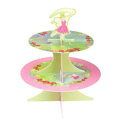 Neviti Princesa de Hadas Partido Torta de la Taza Soporte