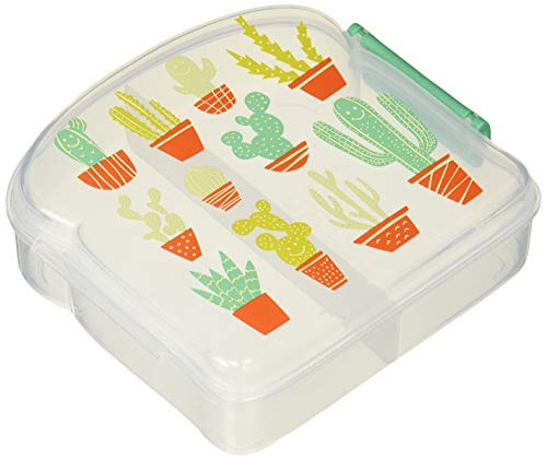 SugarBooger Good Lunch Sandwich Box, Cactus