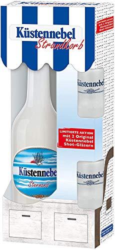 Küstennebel Sternanis 0,5 Liter in Geschenkpackung mit 2 Shotgläsern