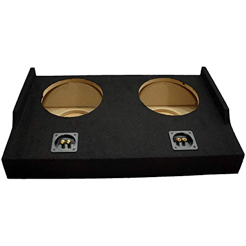 """Compatible with 2015 - UP Ford F-150 Super Cab EXT Truck Dual 10"""" Sub Box Subwoofer Enclosure"""