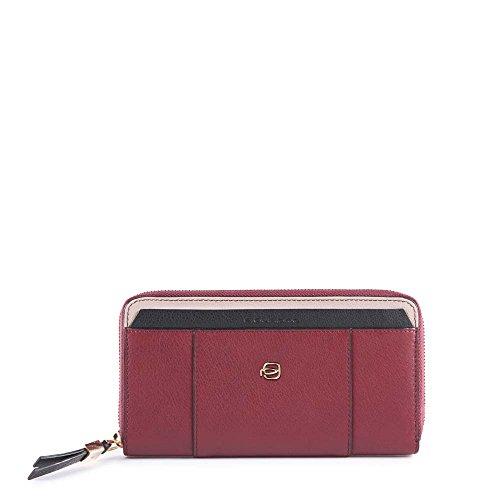 Piquadro Circle Porta carte di credito, 19 cm, Rosso