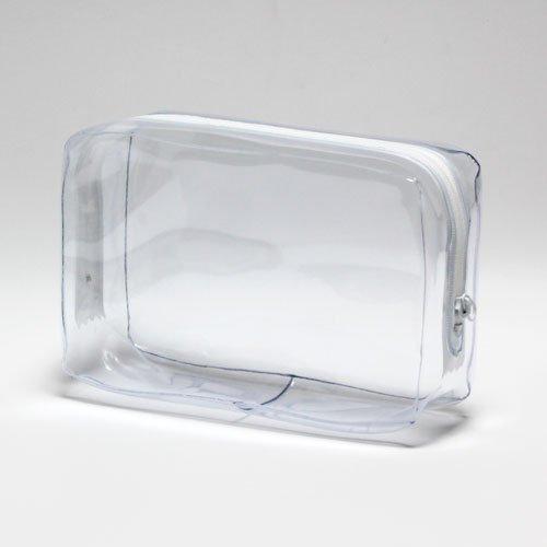抗菌 ビニールポーチ Lサイズ 透明 日本製