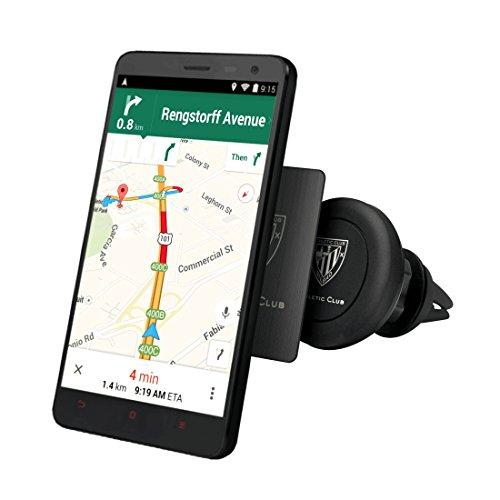 Ideus HOATUNIMAG02 - Soporte Universal de móvil para Coche, Color Negro