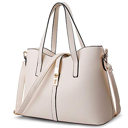 Messenger-Bags Joker Einfache Künstliche Pu Farbe Damentasche Reis Weiß