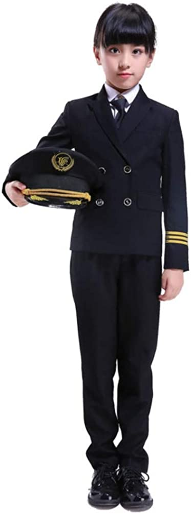 Cosplay for Kids Boys Aircraft Pilo Force Costumes Special sale item Girls Spasm price Air