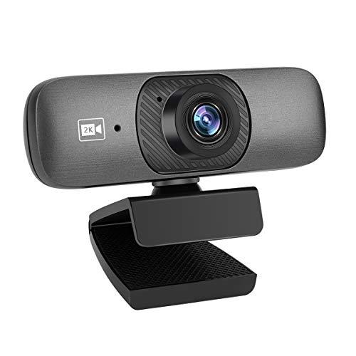GLUBEE C200 PRO - Webcam Full HD 1080p con enfoque fijo, micrófono claro, visión nocturna, puerto USB, para Skype, FaceTime, reuniones compatible con Windows, Mac y Android