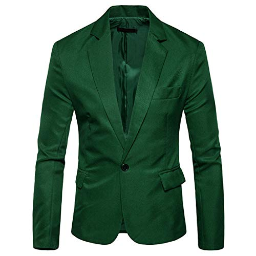 Chunmei Jacket Herren Modern Sportlich Casual Knopf Revers Blazer Tops V Ausschnitt Elegant Brautkleid Slim Fit Männer Blazer Modern Freizeit Leichte Mantel Herren XL