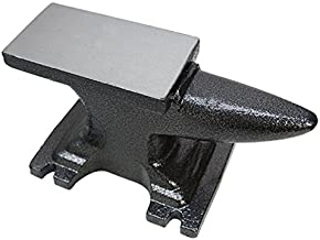 Proline Amazon 11 lbs Solid Forged Steel Anvil Single Horn Base Jeweler Tool Metal Steel Anvil