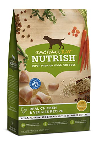 Rachael Ray Nutrish Premium Natural Dry Dog Food, Real Chicken &...