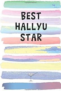 Best Hallyu Star: Blank Lined Notebook Journal Gift for KDrama Fan Friend, Coworker, Boss