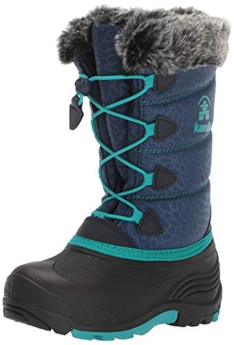 Kamik Snowgypsy3 Snow Boot, Navy, 3 M US Little Kid