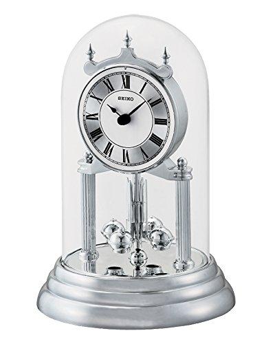 Reloj de mesa Seiko Clocks, de péndulo de torsión, QHN006S