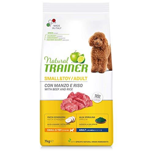 Trainer Natural Cibo per Cani Small & Toy Manzo e Riso 7kg
