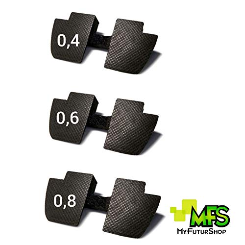 Dichtungen für Xiaomi Scooter M365, Schwarz, 3 Stück