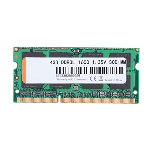 DDR3 1600mhz Memory Module,Green Laptop Part PC3L-12800 1.35V 204PIN for Intel/AMD,Improve Your computer performance,DDR3 Ram Sticks for Games/Work(1)