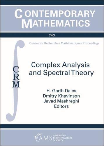 Complex Analysis and Spectral Theory (Contemporary Mathematics)