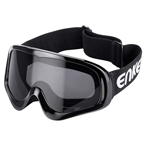 Motorcycle Goggles ATV Dirt Bike Off Road Racing MX Goggles Dust Proof Bendable Eyewear for Cycling Motocross Skiing