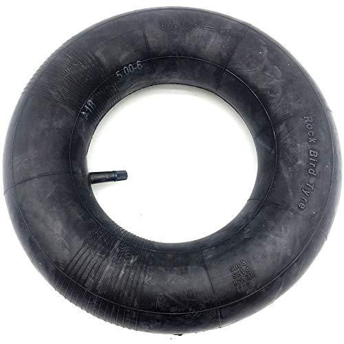 Faddare Schlauch für Rasenmäher-Rohr 13 x 5,00 – 6, Butylgummi, Luftkammer, rechts, Notfallrad mit gebogener oder rechter Wahl, B, Einheitsgröße