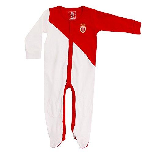 AS Monaco ASM FC Officiële collectie Voetbal Pyjama Baby romper - Baby Maten.