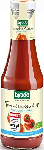 Byodo Bio Tomaten Ketchup ohne Kristallzucker (6 x 500 ml)