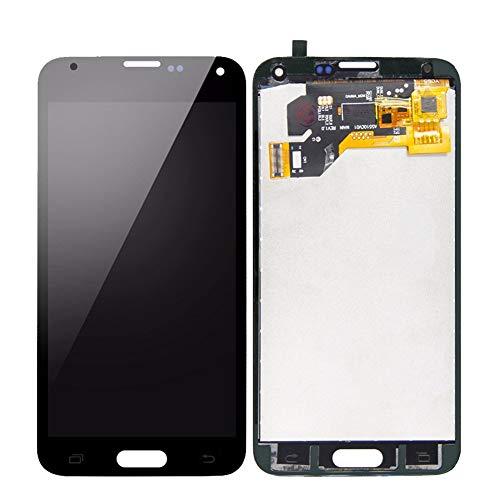 Reemplazar la pantalla Asamblea digitalizador de la pantalla LCD LCD en forma for el Samsung Galaxy Fit for S5 G900 G900A G900MD G900V SM-G900F i9600 LCD de la pantalla táctil ( Color : TFT White )