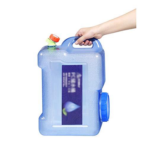 XCYYBB Bidon Agua,Bidón Garrafa Plástico,Homologado para Transporte,Bidon Garrafa Plastico Alimentario con Grifo...
