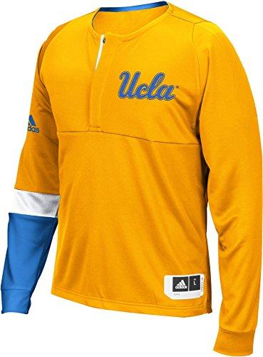 UCLA Bruins adulto manga larga Shooter superior–oro,, hombre, amarillo
