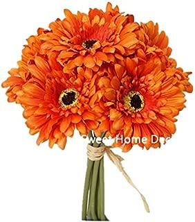 Best small gerbera daisy silk flowers Reviews
