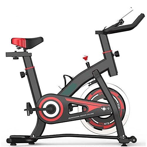 MUGAR Bicicleta Estática Spinning MG-500, MODELO 2.021 Fitness Spinning Bike Aerobic Home, silenciosa con pantalla táctil, diferentes resistencias PARA PERSONAS HASTA 1.70 M ALTURA