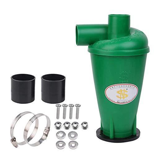 Zyklon Staubabscheider/Staubabsaugung,SN50T3,Fliehkraftabscheider, Hochleistungssammler für Pulver und Staub Mit Flansch Sockel(Style3)