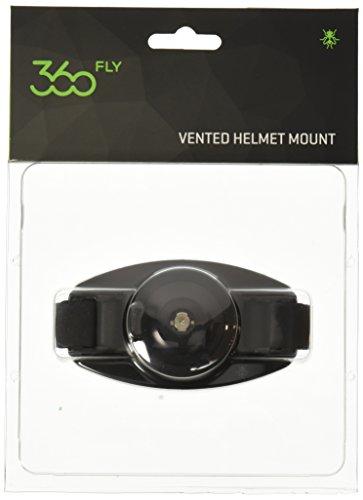 360fly Vented Helmet Mount - Black (VHMBLK)