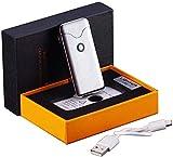 Feuerzeug USB Arc Feuerzeug wiederaufladbare flammenlose Winddichte Plasma-Spule elektrische...