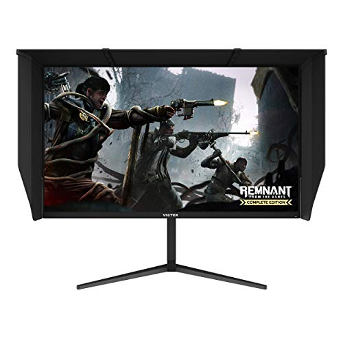 VIOTEK GFI27QXA 27-Inch 4K UHD 120Hz Gaming Monitor (144hz Overclocked) | 1ms HDR IPS DCI-P3 | G-Sync Ready, FreeSync | 2X HDMI 2.0 2X DP 1.4 | Height, Tilt, Swivel, Pivot | 3-Year Warranty, Black