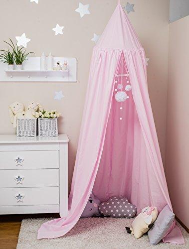 ComfortBaby ® Babybett-Himmel - Höhe: ca. 2,4 m (Rosa/Pink)