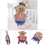 Sanpyl Almohada para bebé, cómoda y súper Suave Almohada para Dar Forma a la Cabeza del bebé Bebé para Gatear Aprender...