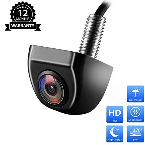 MicarBa Caméra de recul HD Vision Nocturne 170 degrés Fisheye Caméra de recul étanche pour Voiture CL404U