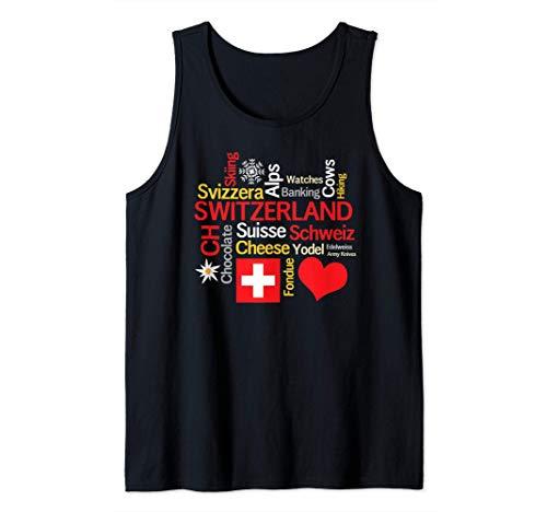 Warum ich die Schweiz Liebe Tank Top
