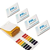 GeekerChip pH Teststreifen[400 Pcs],pH-Wert-Bereich 1-14 für Wasser Schönheit Produkte und Erde mit Kontrollkarte